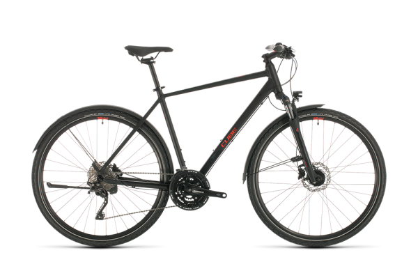 Cube Nature EXC Allroad black´n´red 2020 58 cm